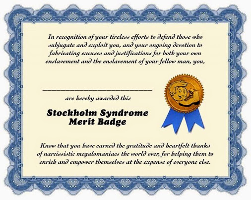Stockholm Syndrome Merit Badge